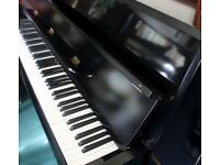 Steinbach upright black piano | Belfast Pianos