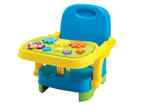 Musical Baby Booster Seat, Multi Color