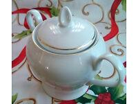 harmony fine porcelain sugar bowl