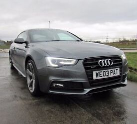 AUDI A5 2.0 TDI QUATTRO S LINE BLACK EDITION 2d 175 BHP 6 Months RAC Roadside Recovery