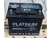 Heavy Duty 12v Battery For Peugeot 207, purchased 17/04/18 only used 10miles
