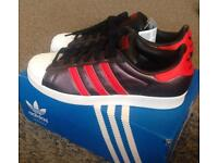 Adidas Superstars brand new in box w/tags sz10