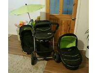 Norton storm Limited Edition pushchair Forest Green