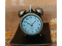 Clock Shaped Decorative Candle Luxury Vintage H&S