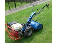 Man with large rotovator hire £139 Beds NN MK SG Watford Kettering 1 hour from Bedford