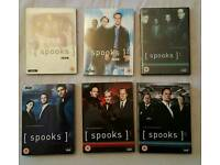 Spooks boxsets season 1-6