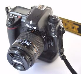 Nikon D2X in great condition with new shutter fitted by Fixation in London