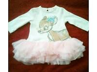 Upto 3 m Baby Girl Disney Dress