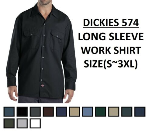 Dickies 574 Long Sleeve Work Shirts ALL Sizes