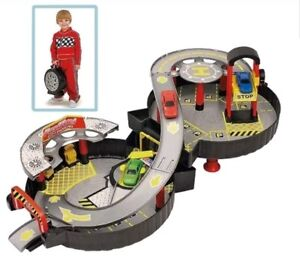 Chad Valley Foldable Wheel Garage Playset with Car Children's Toy Gift for Kids