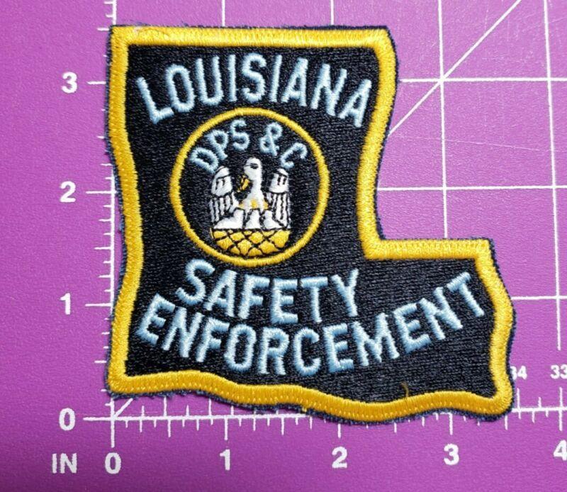Louisiana DPS & C Shoulder patch new with plastic backing