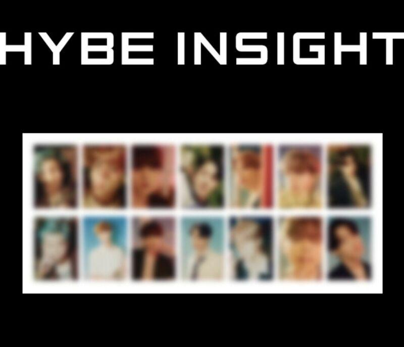 [pre-order] hybe insight bts photo card POSTER POSTCARD set EUPHORIA