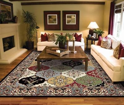 Luxury Turkish Traditional Multi Color 8x11 Rugs 4x6  2x8 5x8 Bedroom Rugs Multi Living Room