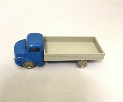 RARE LEGO HO SCALE VINTAGE CLASSIC 1950'S 60's BLUE BEDFORD FLATBED TRUCK