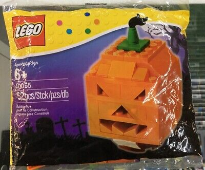 Lego Halloween Jack O Lantern 40055 NEW Sealed 2013