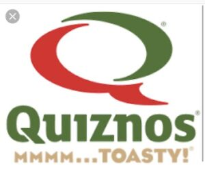 Quiznos at 130th Ave SE IS NOW HIRING