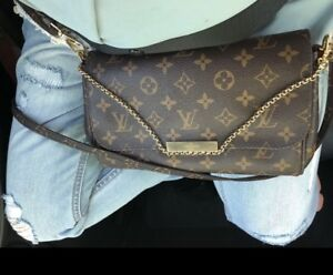 Authentic Louis Vuitton Favorite MM Monogram With Freebies