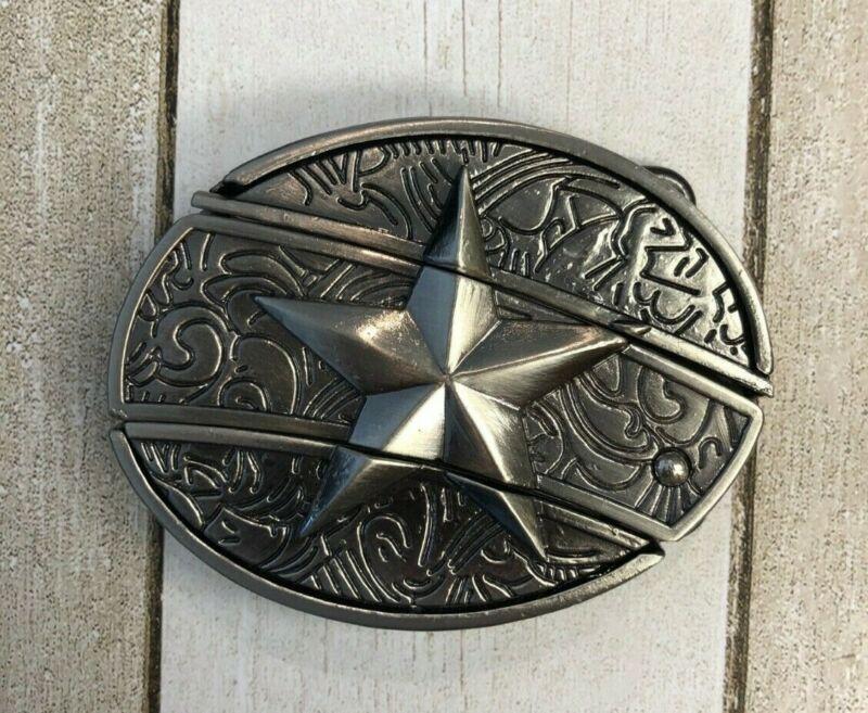 Lone Star Knife Belt buckle