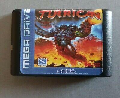 Mega Turrican sur Sega Megadrive
