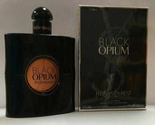 Yves Saint Laurent Black Opium 3 oz / 90 ml for Women Eau De Parfum Brand New