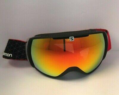 57306f39e25 Salomon XT One Men s Women s Ski Snowboard Goggle Gear Filters Orange  adjustable