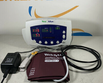 Welch Allyn Vital Signs Monitor 300 Series 53xxx Nibp Spo2 Temp With Access