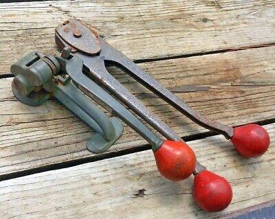 Signode Metal Banding Tensioner St 34 C1223 Sealer 12 Crimper Strapping Tool