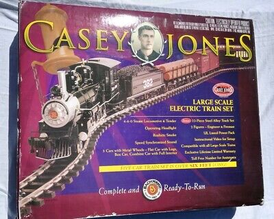 Casey Jones Electric Train Set Bachmann Big Hauler Large G Scale 90039 Unused