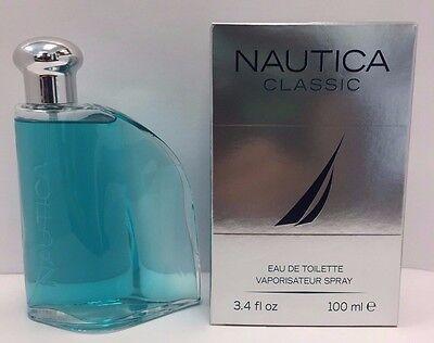 Nautica Classic by Nautica 3.4 oz EDT  Men's cologne  brand new in box