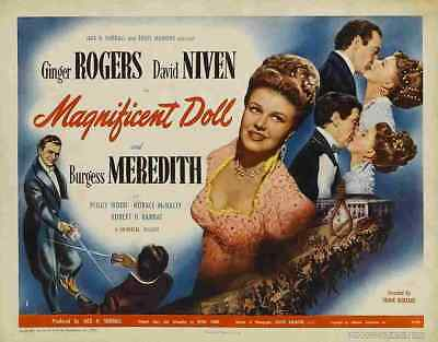 Magnificent Doll 02 Film A3 Poster Print