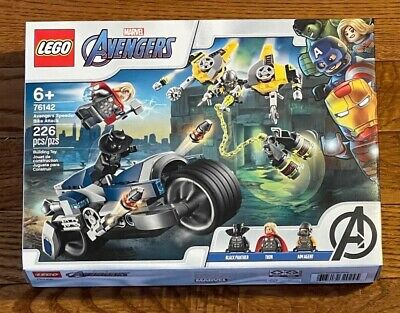 LEGO 76142 2020 Marvel Avengers Speeder Bike Attack Thor Black Panther Aim Agent