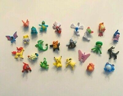 Pokemon Mini Figurine 24 Piece Lot/Set *Toy Figures