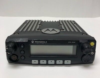 Motorola Xtl 2500 P25 Radio Mobile M21urm9pw1an Used