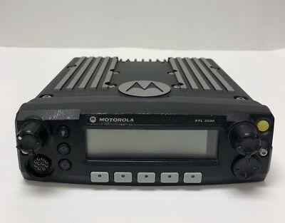 Motorola Xtl2500 P25 Mobile M21urm9pw1an Used