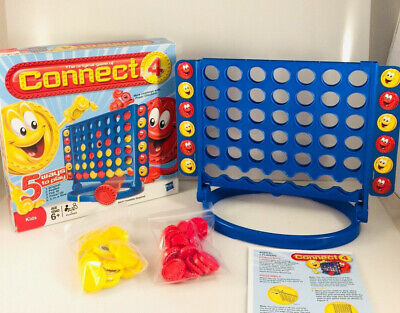 Connect Four Original 2009 5 Ways to Play Board Game Hasbro - Play Four Game