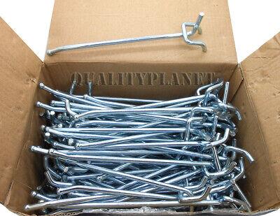 100 6 Pegboard Hooks Ball Tip Garage Peg Board Tool Display Fits 18 14