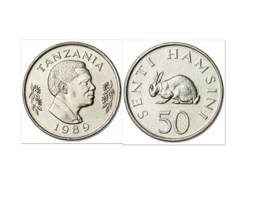 Tanzania 1989 50 Senti Uncirculated (KM26)