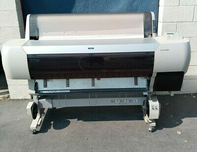 Epson Stylus Pro 10000 Archival Quality 44 Large Format Printer Wroller Stand