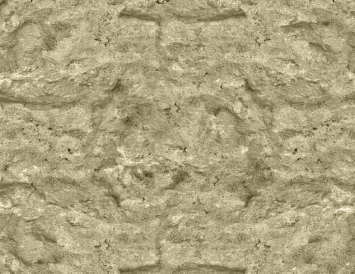 G Scale Tan Rock Embankment Model Train Scenery Sheets –5 Seamless 8.5x11