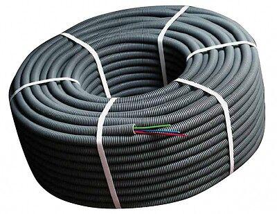 Flexcab™ A2U15BNT Pipa Del Cable Con Alimentación Eléctrica 100m° 20mm