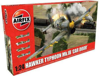 Airfix Hawker Typhoon Mk.IB 'Car Door' - 1 Extra Scheme 1:24 Model Plane A19003A