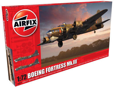 Airfix Boeing Fortress MK.III 1:72 Scale Plastic Model Airplane A08018