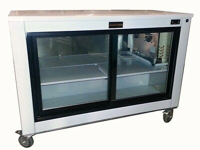 Cooltech Sliding Glass Doors Back Bar Worktop Display Cooler 60