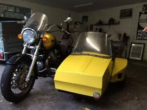 2002 Californian Moto Guzzi with Highway Sidecar Karrinyup Stirling Area Preview