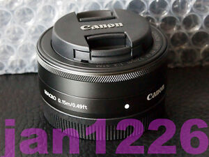 New-Genuine-Canon-EOS-M-EF-M-22mm-F-2-STM-Prime-Wide-Angle-Pancake-Lens-SALE