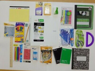 School Supplies Office Teacher Classroom Supplies Lot New Nip
