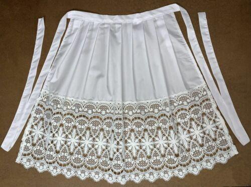 Dirndl apron white
