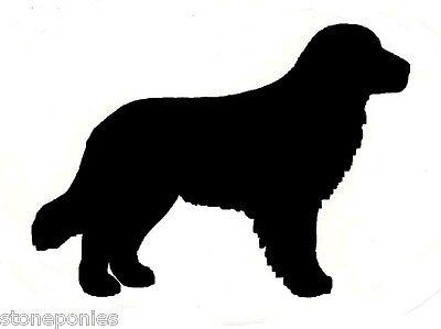 - Golden Retriever Dog Profile Silhouette Window Decal Black on Clear Sticker