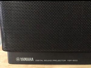Yamaha YSP 800 digital surround sound projection bar