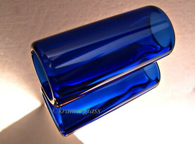 Real BottleNeck Guitar Slide Hand Polished 1 3//4 Cigar Box 6 String Parlor Reso